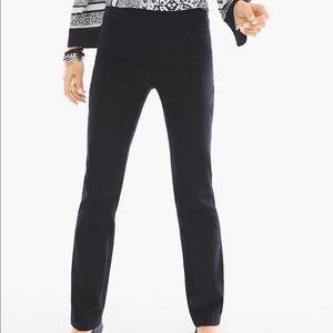 💐NEW Chico's Brigitte Black Straight Leg Pants